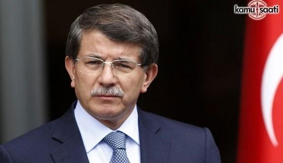 Ahmet Davutoğlu'nun FETÖ Tarifi Taslak Rapora Girdi