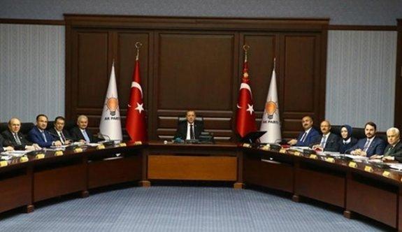 AK Parti Merkez Karar Yönetim Kurulu Cumhurbaşkanı Erdoğan başkanlığında toplandı