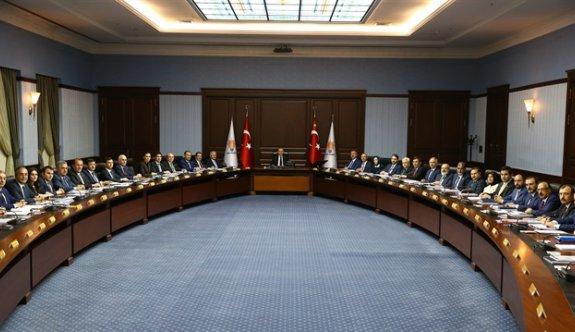 AK Parti MKYK toplantısında neler görüşüldü?