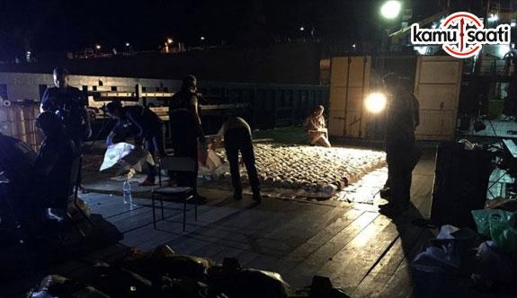 Akdeniz'de büyük uyuşturucu operasyonu