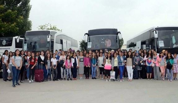Ankara Büyükşehir Belediyesi'nden başarılı öğrencilere karne hediyesi