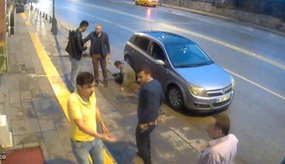 Ankara Ulus'ta dehşete düşüren görüntüler