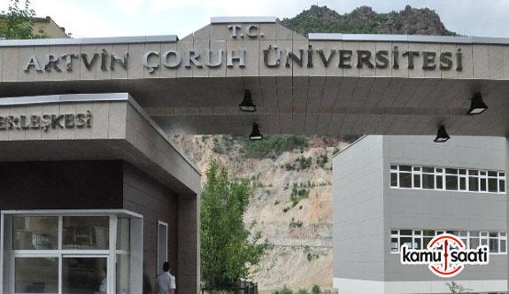 Artvin Çoruh Üniversitesi'ne ait 2 yönetmelik Resmi Gazete'de