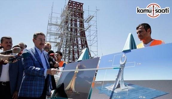 Başkentte '15 Temmuz Şehitler Anıtı' tanıtıldı