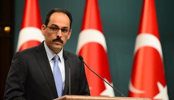 Cumhurbaşkanı Sözcüsü Kalın'dan IKBY referandum tepkisi