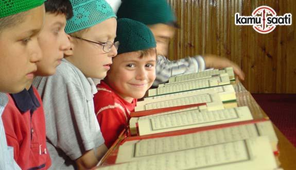 DİB, Yaz Kur'an Kursları başladı