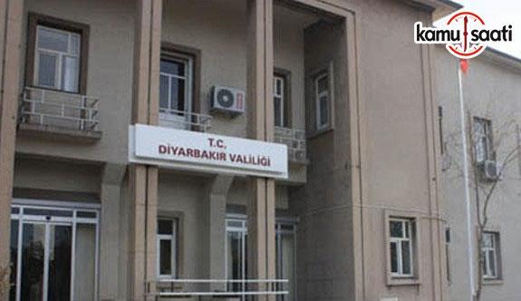 Diyarbakır Valiliğinden operasyon açıklaması - 8 Haziran 2017