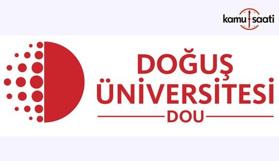 Doğuş Üniversitesi Lisansüstü Eğitim-Öğretim ve Sınav Yönetmeliğinde Değişiklik
