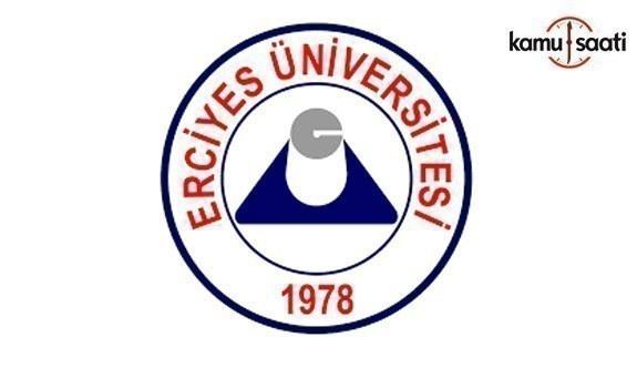 Erciyes Üniversitesi'nin iki yönetmeliği yürürlükten kaldırıldı