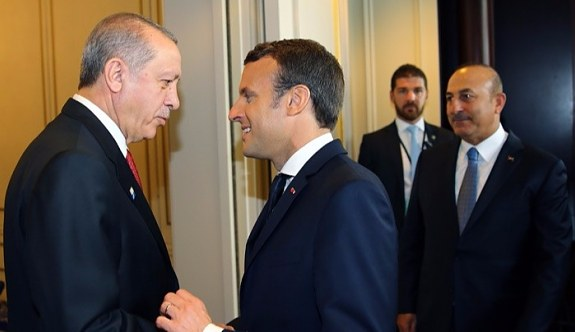 Erdoğan'dan Macron'un isteğine olumlu cevap