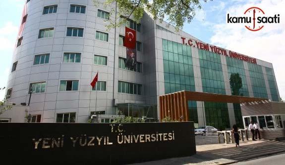 İstanbul Yeni Yüzyıl Üniversitesi Lisansüstü Eğitim ve Öğretim Yönetmeliğinde Değişiklik