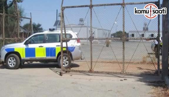 Kıbrıs'taki İngiliz askeri üssüne saldırı!
