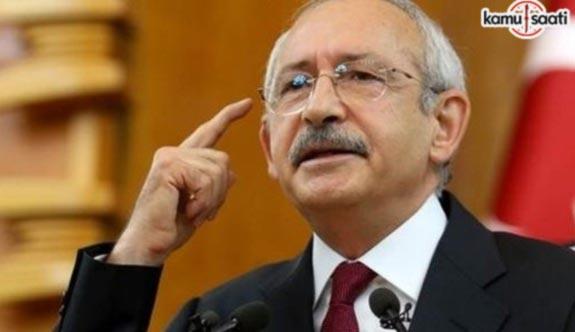 Kılıçdaroğlu'ndan Ömer Faruk Kavurmacı'nın tutuklanmasına tepki