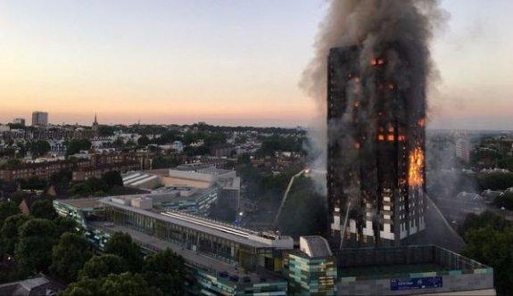 Londra'daki yangında ağır kayıp