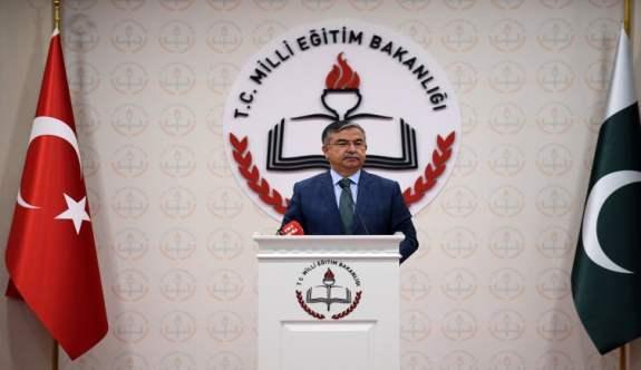 """MEB Bakanı İsmet Yılmaz, """"Türkiye, Pakistan halkının Milli Mücadeleye destek vermesi unutulmaz"""""""