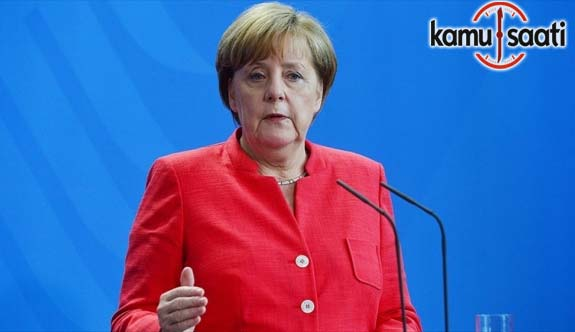 Merkel'den İncirlik açıklaması; Türkiye ile bir dizi ortak çıkarlarımız var