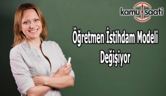 Öğretmenlerin İstihdam Sistemi Değişiyor
