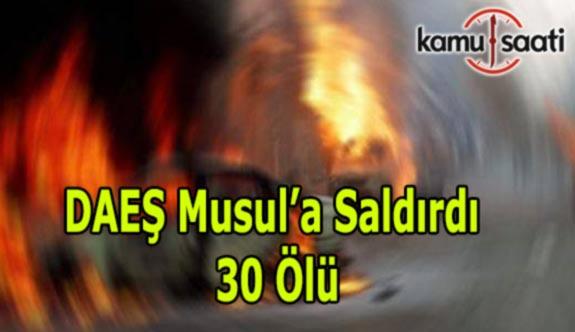 Ramazan'da DAEŞ Terörü - Musul'da Müslümanlara saldırdı: 30 ölü, 40 yaralı