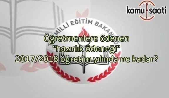 2017/2018 hazırlık ödeneği ücretleri belli oldu