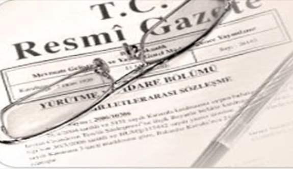 7033 sayılı Sanayi Kanunu Resmi Gazete'de yayımlandı