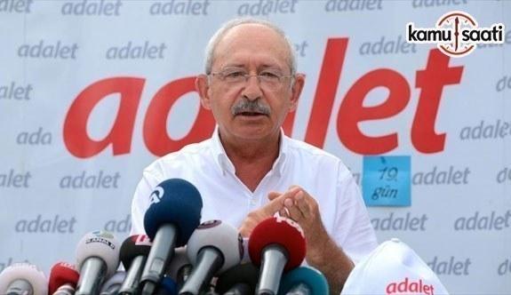 CHP Genel Başkanı Kılıçdaroğlu: Haklıyı savunmak bizim temel görevimiz