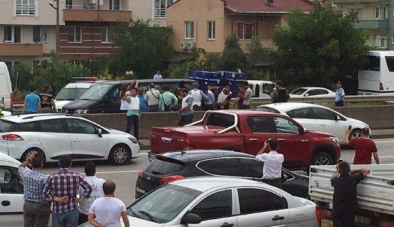 CHP'nin adalet yürüyüşüne yönelik saldırı önlendi