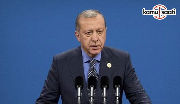 Cumhurbaşkanı Erdoğan 'Kimseyi amacınızın adalet olduğuna inandıramazsınız'