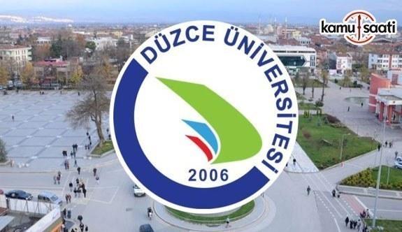 Düzce Üniversitesi GTT Uygulama ve Araştırma Merkezi Yönetmeliği