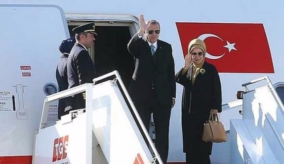 Erdoğan'da G20 Zirvesi için Almanya'ya gitti