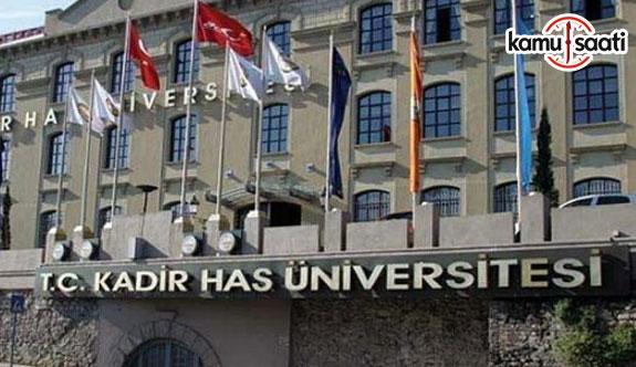 Kadir Has Üniversitesi Ana Yönetmeliğinde Değişiklik Yapıldı