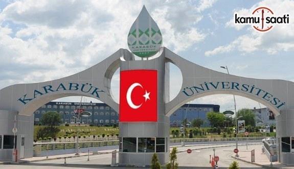 Karabük Üniversitesi Önlisans, Lisans Eğitim-Öğretim ve Sınav Yönetmeliği