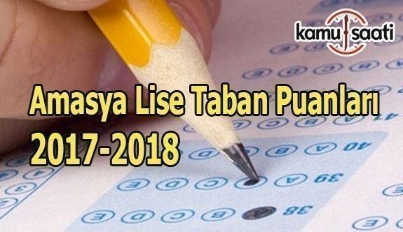 TEOG Amasya Lise Taban Puanları 2017-2018