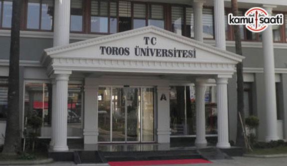Toros Üniversitesi Yenilenebilir Enerji Teknolojileri Eğitimi Uygulama ve Araştırma Merkezi Yönetmeliği