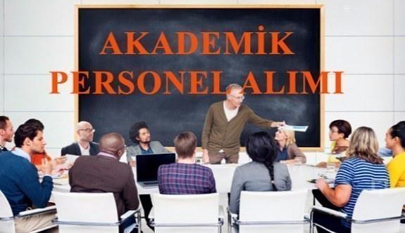4 üniversiteden 37 akademik personel alım ilanı