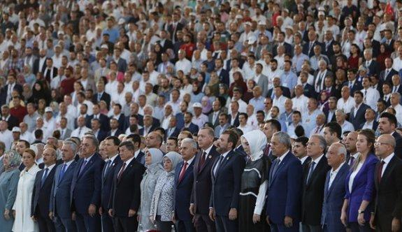 AK Parti'nin 16. yaş kutlamalarından ilk görüntüler