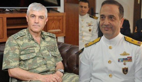 Ankara'da Jandarma ve Donanma Komutanları belli oldu