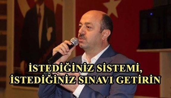 Eğitim Bir sen İstanbul 4 Nolu Şube Başkanı Talat Yavuz Meydan Okudu