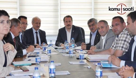 Eğitim hizmet kolu toplu sözleşme teklifleri Devlet Personel Başkanlığı'nda görüşüldü