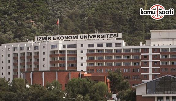İzmir Ekonomi Üniversitesi Ön Lisans ve Lisans Eğitim-Öğretim ve Sınav Yönetmeliğinde Değişiklik Yapıldı