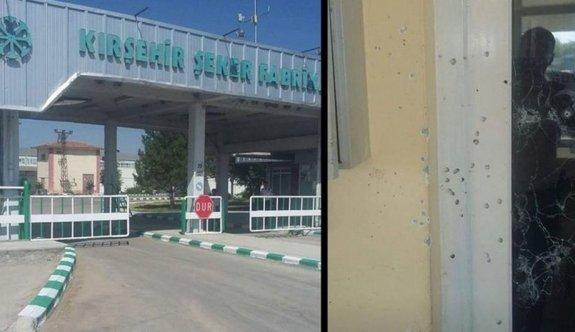 Kırşehir Şeker Fabrikası'na silahlı saldırı