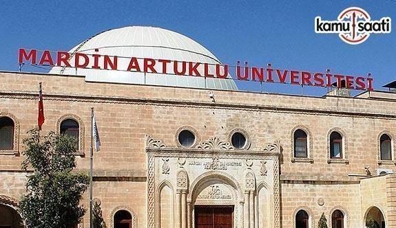 Mardin Artuklu Üniversitesi Lisansüstü Eğitim ve Öğretim Yönetmeliğinde Değişiklik Yapıldı