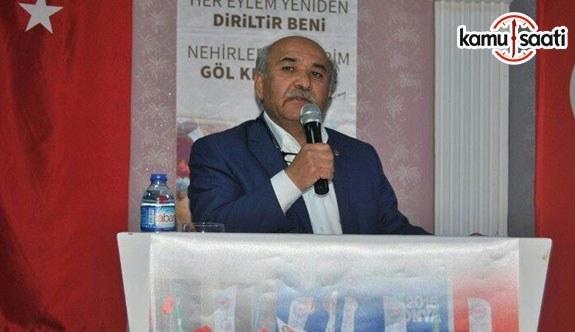 """Memur-Sen Ankara İl Başkanı Mustafa Kır, """"Hükümetten Erbakan Tavrı Bekleniyor"""""""