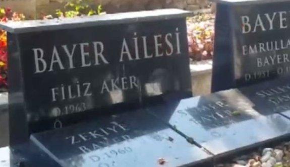 Vatan Şaşmaz'ın katili Filiz Aker bir ay önce kendi mezarını hazırlatmış