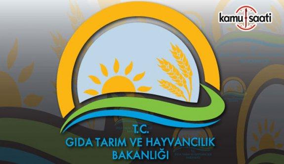 Gıda, Tarım ve Hayvancılık Bakanlığı Taşra Teşkilatı Yöneticilerinin Atama ve Yer Değiştirme Yönetmeliğinde Değişiklik
