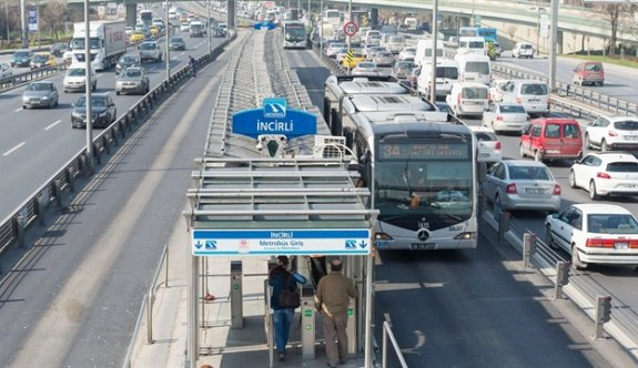 İncirli Metrobüs İstasyonu Pazar günü kapatılacak