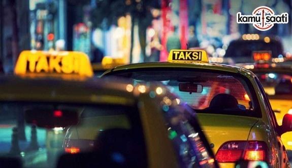 İstanbul'da taksimetre ücretlerine zam