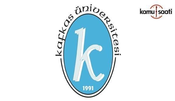 Kafkas Üniversitesi'ne ait 2 yönetmelikte değişiklik yapıldı