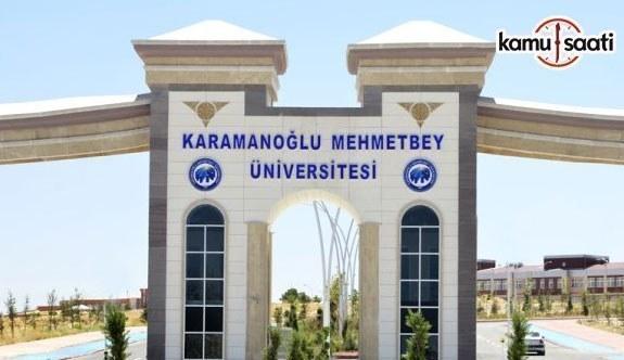 Karamanoğlu Mehmetbey Üniversitesi Gıda Geliştirme Uygulama ve Araştırma Merkezi Yönetmeliği