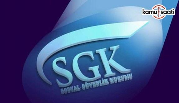 SGK Personel Yönetmeliğinde Değişiklik Yapıldı - 14 Eylül 2017