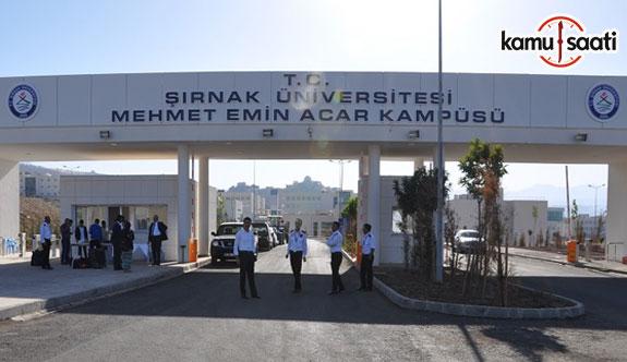 Şırnak Üniversitesi Önlisans ve Lisans Eğitim-Öğretim ve Sınav Yönetmeliği
